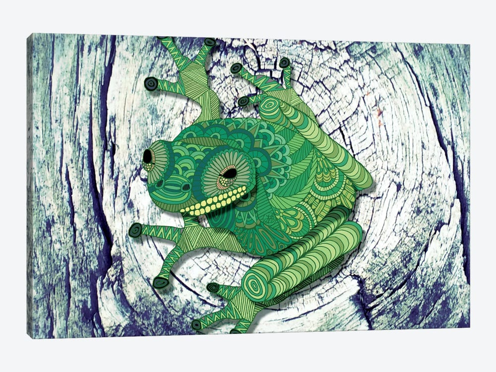Tree Frog by Angelika Parker 1-piece Art Print