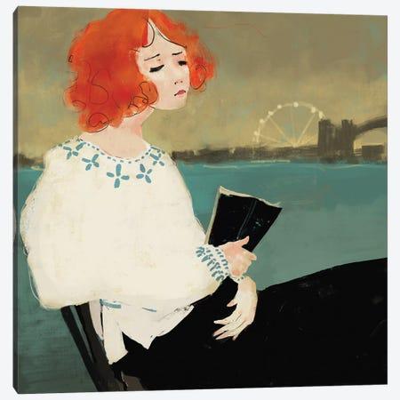 Talk To The City Canvas Print #ANI47} by Anikó Salamon Canvas Artwork