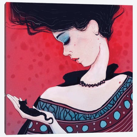 Time To Turn Page Canvas Print #ANI50} by Anikó Salamon Canvas Art