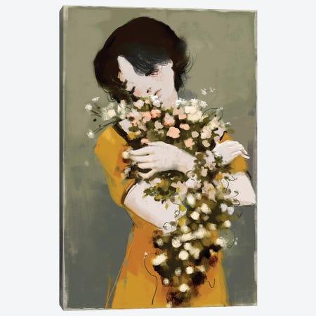 Hug The Beauty 3-Piece Canvas #ANI53} by Anikó Salamon Canvas Art