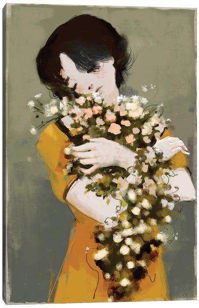 Hug The Beauty Canvas Art Print
