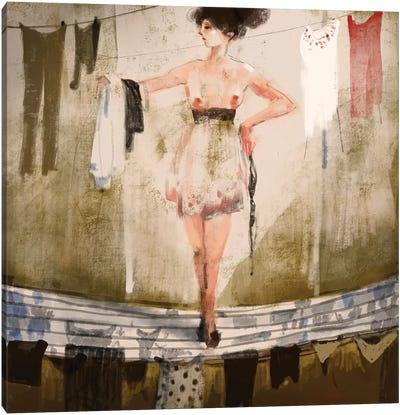 What Should I Get Dress Canvas Art Print