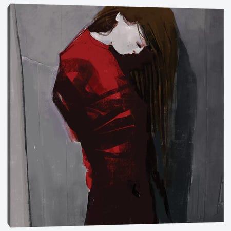 Sadnight Canvas Print #ANI67} by Anikó Salamon Canvas Art