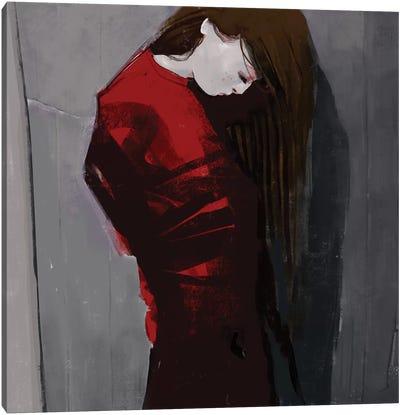 Sadnight Canvas Art Print