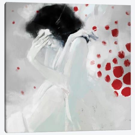 Whiteshame Canvas Print #ANI69} by Anikó Salamon Canvas Print