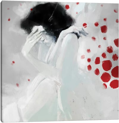 Whiteshame Canvas Art Print