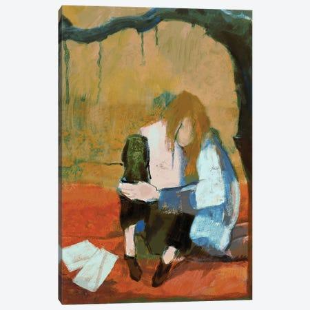 Under Sad Trees Canvas Print #ANI80} by Anikó Salamon Art Print