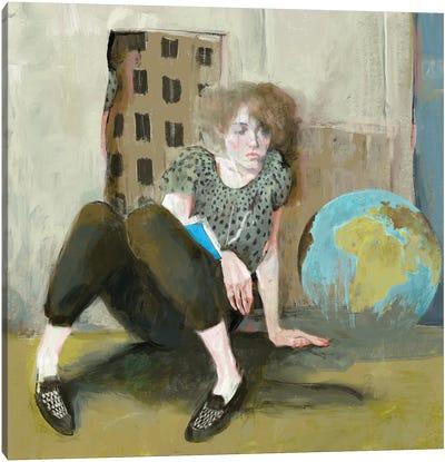 The globe Canvas Art Print