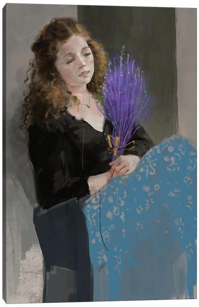 Purpleandblue Canvas Art Print