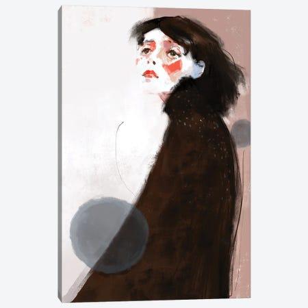 Wondering Canvas Print #ANI89} by Anikó Salamon Canvas Art Print