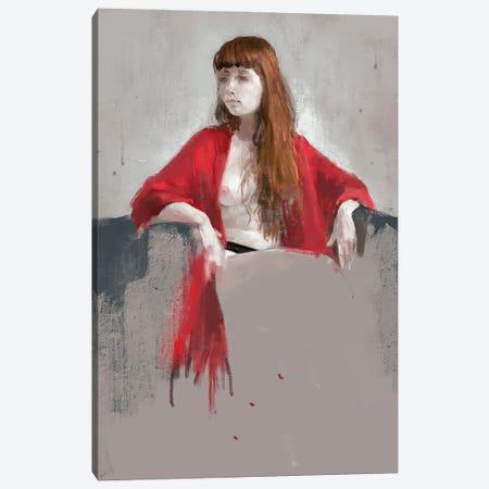 Portrait Of Youngness Canvas Print #ANI90} by Anikó Salamon Canvas Artwork