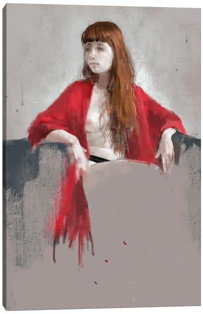 Portrait Of Youngness Canvas Art Print