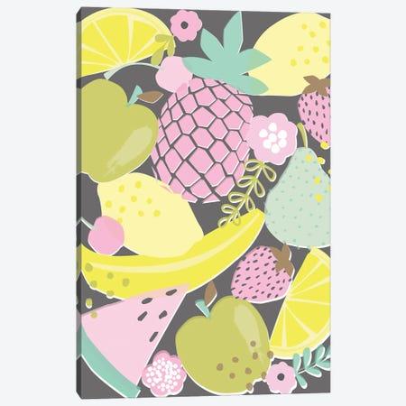 Fruit Fizz I Canvas Print #ANK2} by Angela Nikeas Canvas Art Print