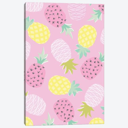 Fruit Fizz V Canvas Print #ANK6} by Angela Nikeas Canvas Art