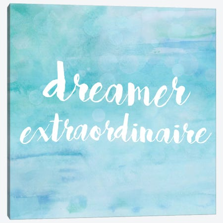 Dreamer Extraordinaire Canvas Print #ANQ12} by Anna Quach Canvas Art