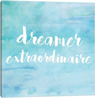 Dreamer Extraordinaire Canvas Art Print