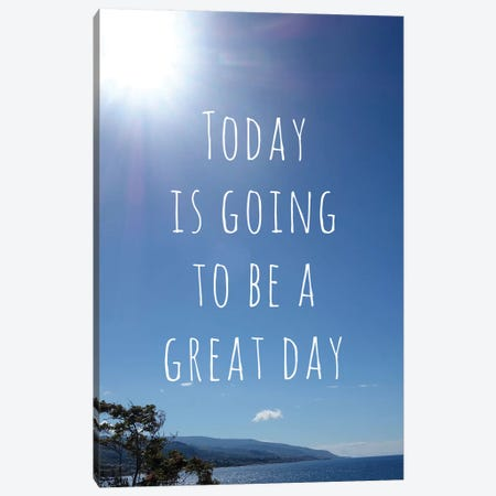 Great Day Canvas Print #ANQ16} by Anna Quach Canvas Print