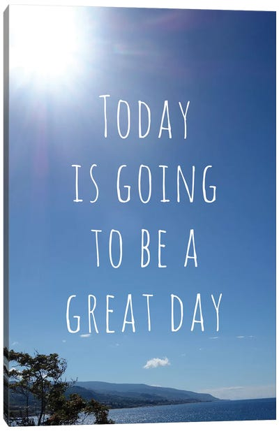 Great Day Canvas Art Print
