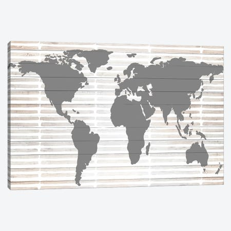 Grey Global Canvas Print #ANQ18} by Anna Quach Canvas Art