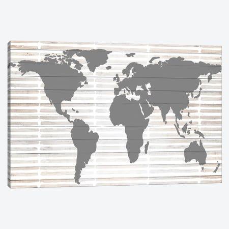 Grey Global Canvas Print #ANQ18} by Anna Quach Canvas Art