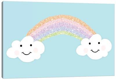 Happy Clouds Canvas Art Print