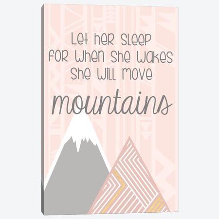 She'll Move Mountains Canvas Print #ANQ26} by Anna Quach Canvas Wall Art