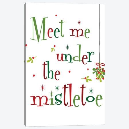 Meet me Under the Mistletoe Canvas Print #ANQ41} by Anna Quach Canvas Print