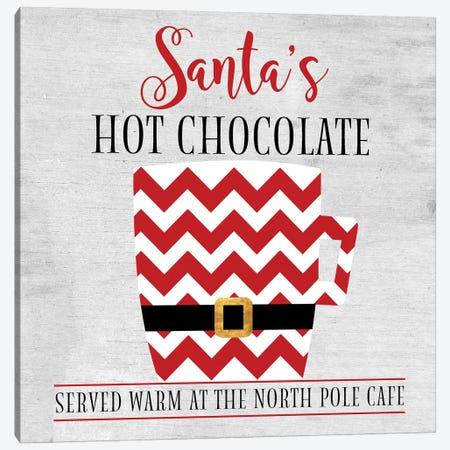 North Pole Cafe Canvas Print #ANQ44} by Anna Quach Canvas Art