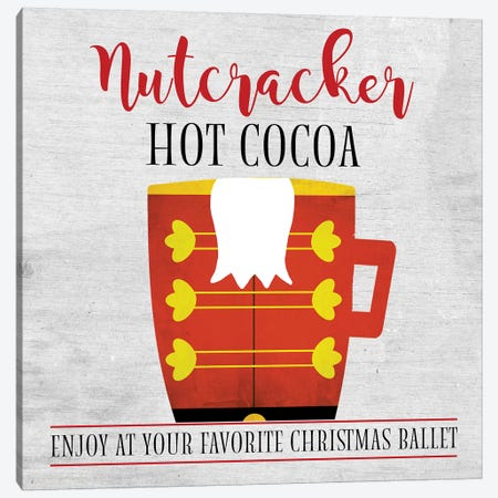 Nutcracker Hot Cocoa Canvas Print #ANQ45} by Anna Quach Canvas Wall Art