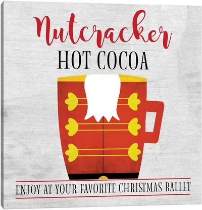 Nutcracker Hot Cocoa Canvas Art Print