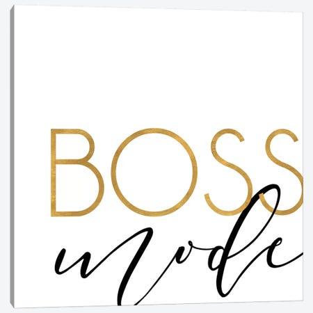 Boss Mode Canvas Print #ANQ50} by Anna Quach Canvas Wall Art