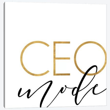 Ceo Mode Canvas Print #ANQ51} by Anna Quach Canvas Artwork