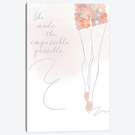 Impossibly Possible Canvas Print #ANQ53} by Anna Quach Canvas Art
