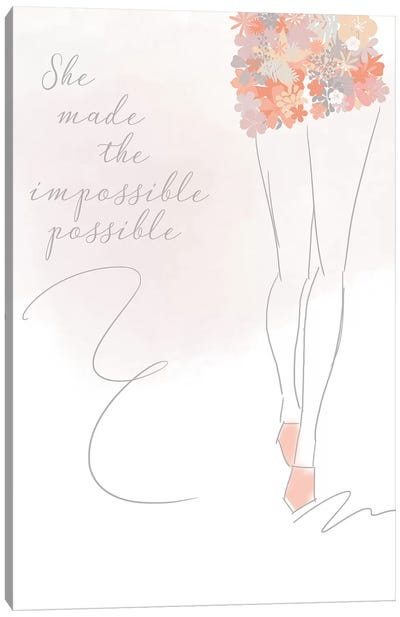 Impossibly Possible Canvas Art Print