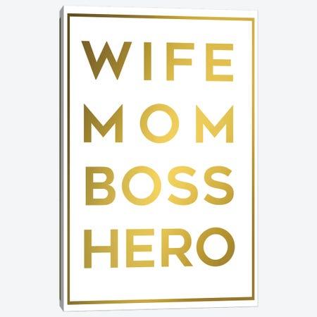 Boss Mom Canvas Print #ANQ5} by Anna Quach Art Print