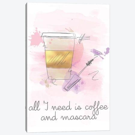 Coffee and Mascara Canvas Print #ANQ61} by Anna Quach Canvas Print