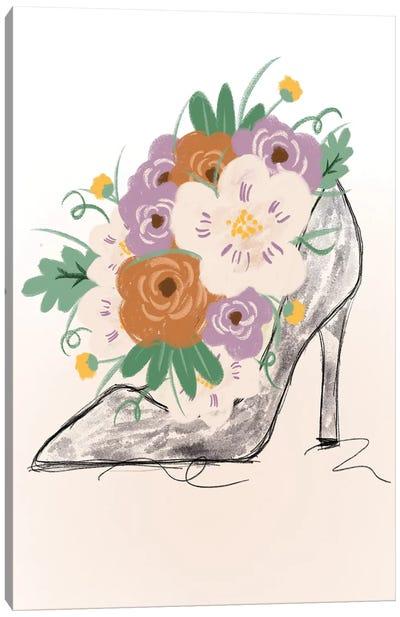 Floral Bloom Heel Canvas Art Print