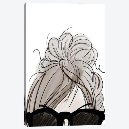 Visions of Hair Style IV Canvas Print #ANQ67} by Anna Quach Canvas Wall Art