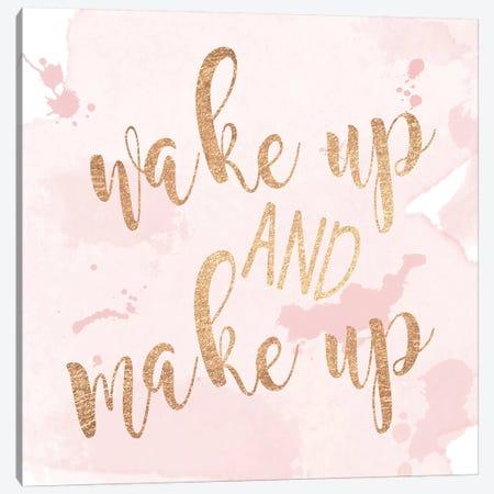 Wake Up And Make Up Canvas Print #ANQ68} by Anna Quach Art Print