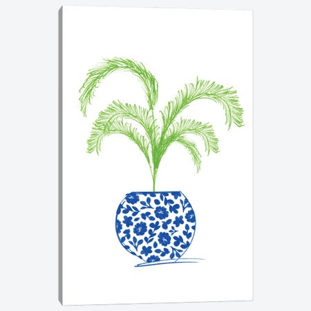Potted Plant I Canvas Print #ANQ75} by Anna Quach Art Print