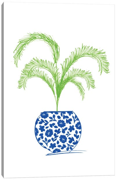 Potted Plant I Canvas Art Print