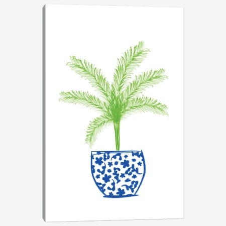 Potted Plant II Canvas Print #ANQ76} by Anna Quach Canvas Art Print
