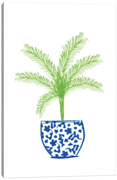 Potted Plant II Canvas Art Print
