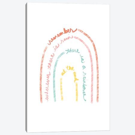 Rain and Rainbows Canvas Print #ANQ77} by Anna Quach Canvas Art Print