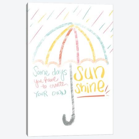 Sunshine Canvas Print #ANQ83} by Anna Quach Art Print