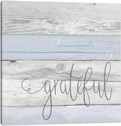 Grateful Canvas Art Print