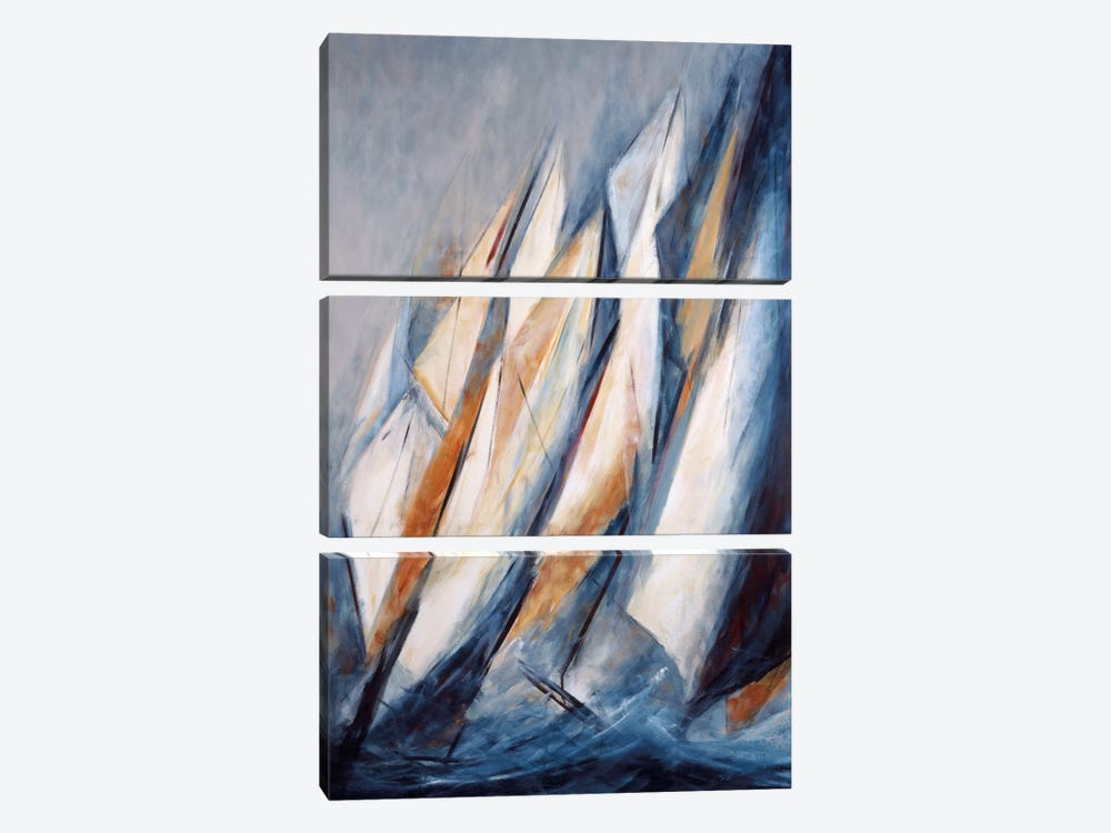 Alta Mar by María Antonia Torres 3-piece Canvas Art