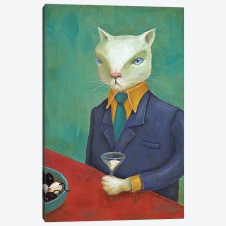 Milk Martini Canvas Print #ANU15} by Anna Magruder Art Print