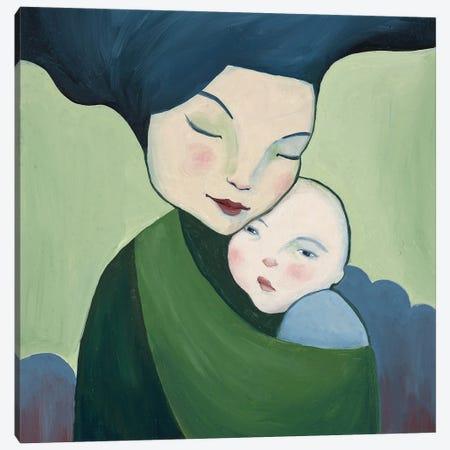 Mother & Child Canvas Print #ANU22} by Anna Magruder Canvas Art Print