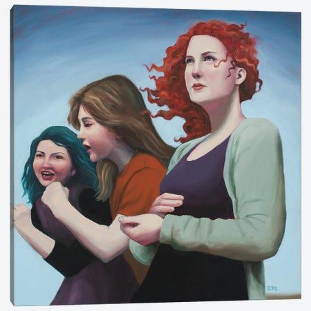 Empowered Canvas Print #ANU23} by Anna Magruder Canvas Print